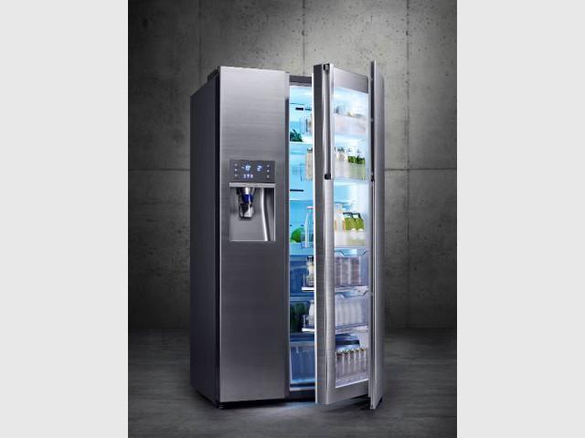 Un réfrigérateur double profondeur  - Des réfrigérateurs performants et innovants