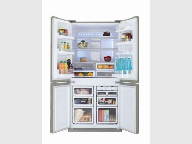 Un très grand réfrigérateur familial - Des réfrigérateurs performants et innovants