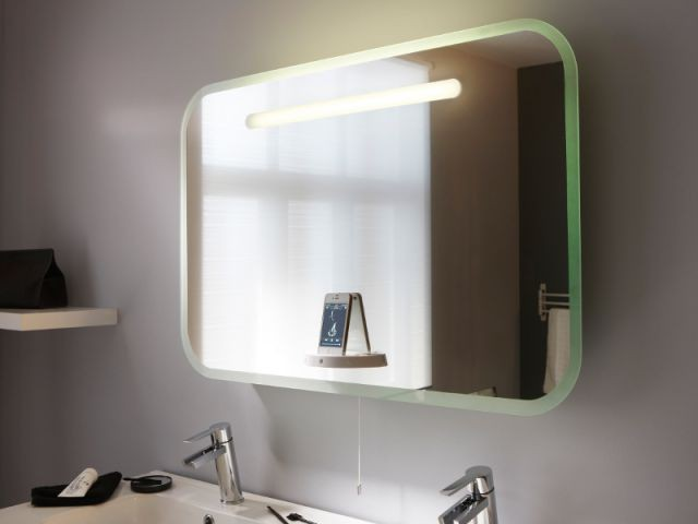 Des accessoires pour une salle de bains high tech - Musique pub leroy merlin ...
