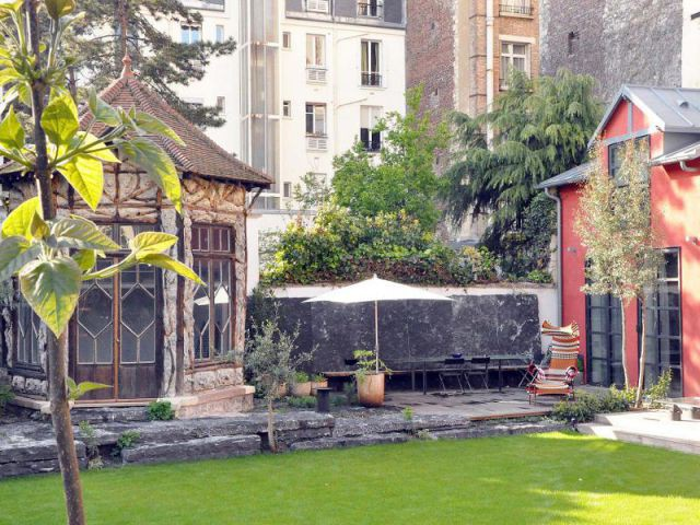 Jardin privé de ville