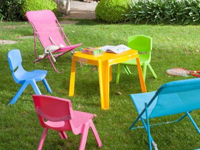 le mobilier d 39 ext rieur indispensable pour les enfants. Black Bedroom Furniture Sets. Home Design Ideas