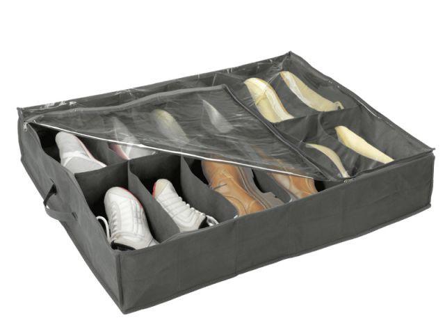 Une housse de chaussures aux multiples compartiments - Les accessoires de rangement pour le déménagement