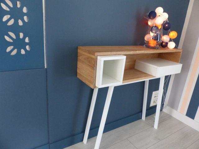 Deux pièces de mobilier au style néo-vintage  - Un salon démodé retrouve fraîcheur et convivialité