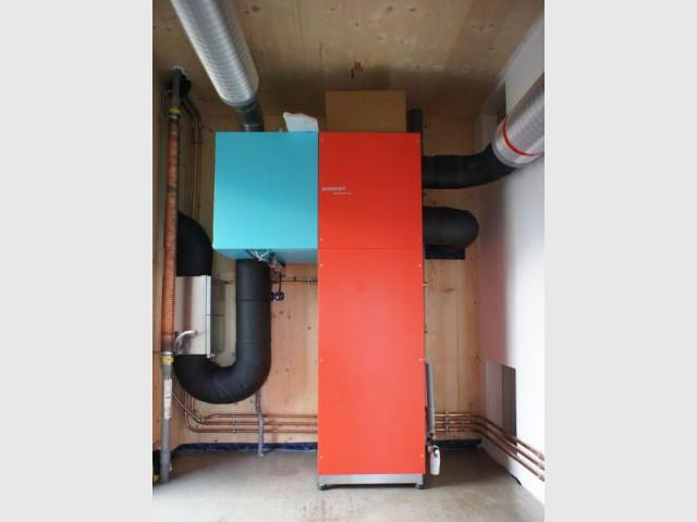 Ventilation double flux - Maison passive Gosne