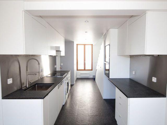 r nover un appartement un duplex vieillot remis au go t. Black Bedroom Furniture Sets. Home Design Ideas