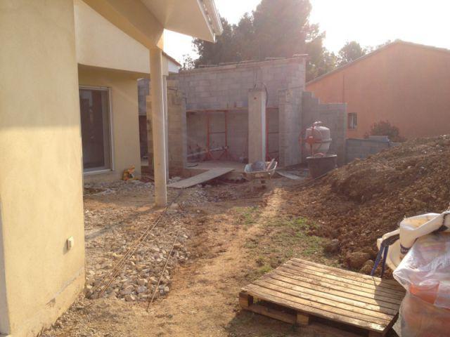 Fiche technique - Aménagement d'une villa avec piscine et patio