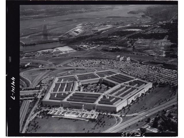 Vue générale du Pentagone