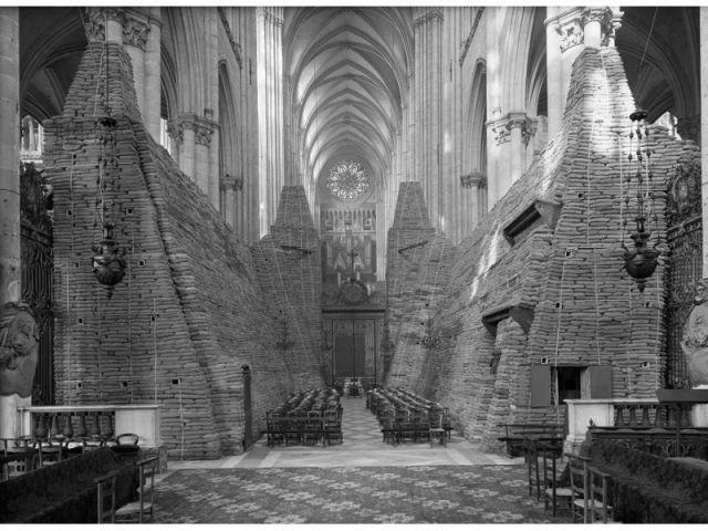Cathédrale d'Amiens, vers 1940