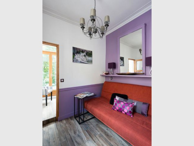 Une chambre hommage à l'ancien  - Deux pièces optimisé au coeur de Paris