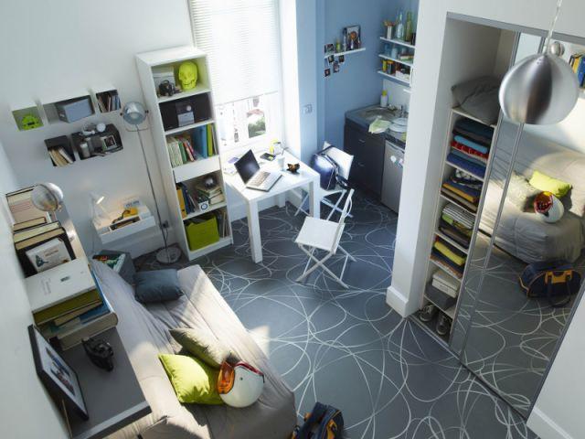 Des solutions pratiques pour quiper son studio - Appartement sombre solutions ...