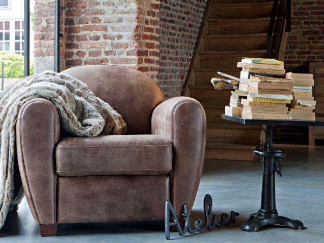 Un fauteuil cuir cosy  - Aménagements créatifs et pratiques pour hommes