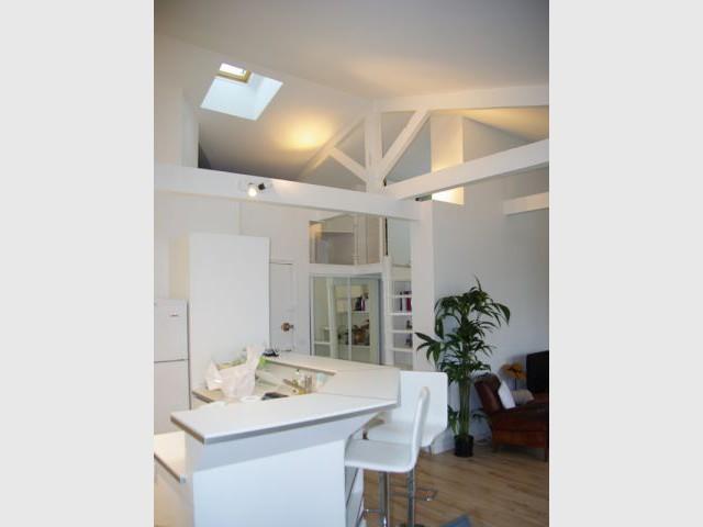 Des aménagements pour un appartement lumineux - Rénovation d'un trois pièces dans le 15ème arrt de Paris