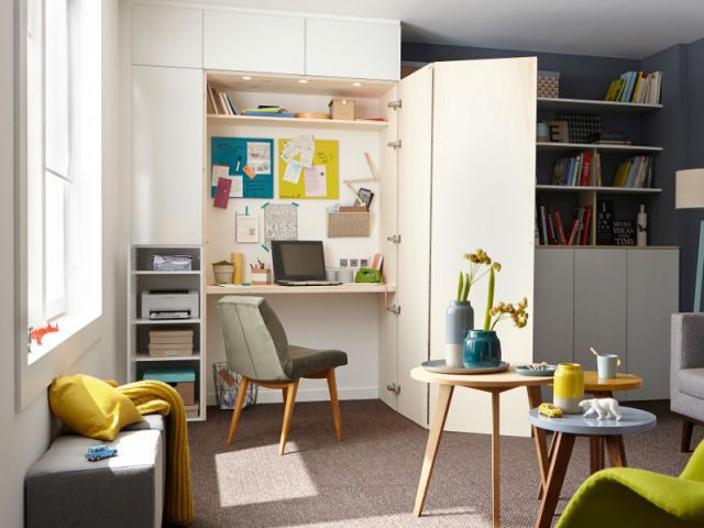 Bureau Pour Un Salon : Choisir son bureau à chacun son espace de travail