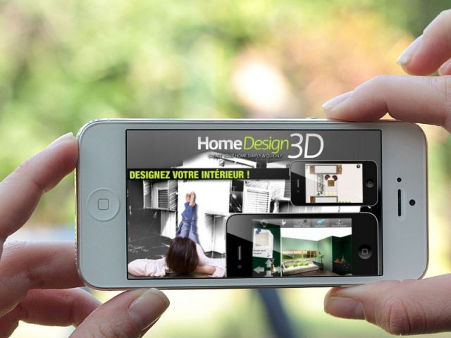 Des applications smartphones ludiques et utiles pour for Application maison 3d