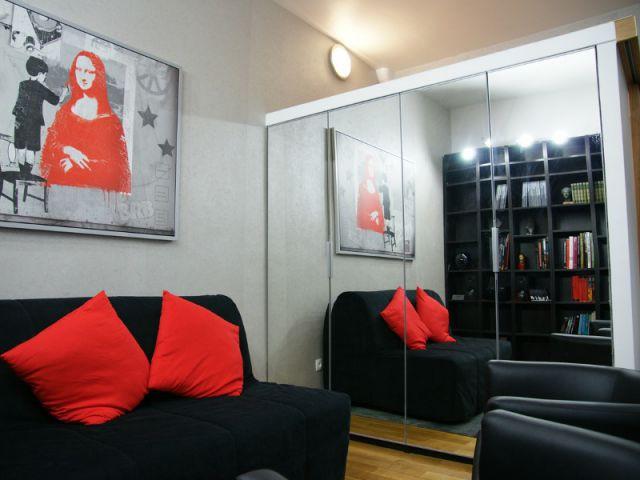 La création d'un logement fonctionnel dans un petit espace - Loge de gardiens en studio moderne
