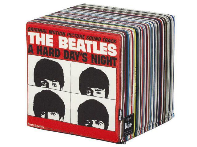 Pouf Vinyles