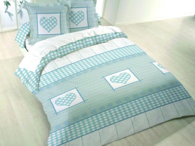 Une parure aux couleurs pastel pour 35,90 € - Parure de lit Lovely