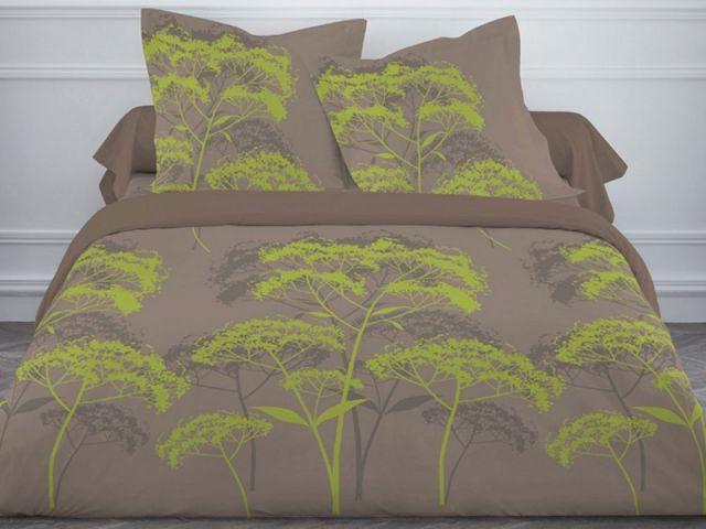 Une parure végétale pour 34,90 € - Parure de lit Nature