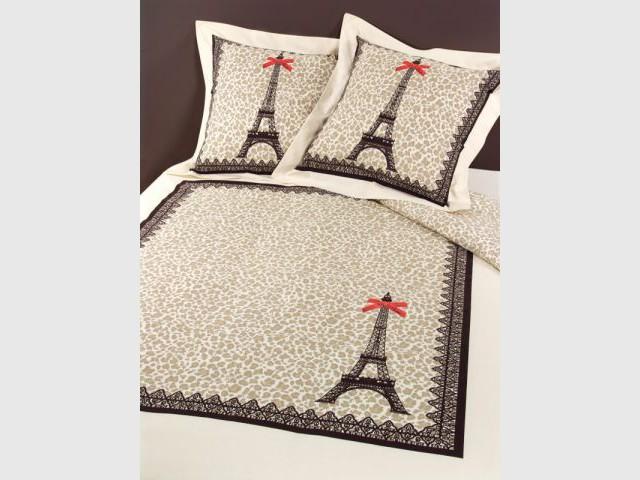 Parure de lit Paris léopard