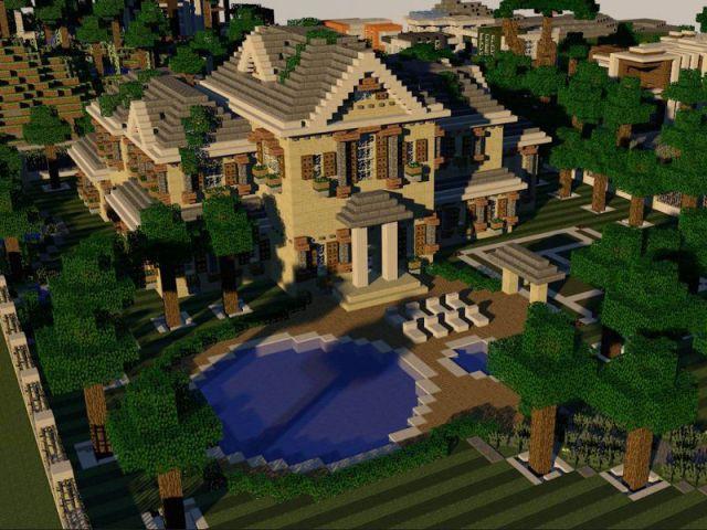 Colonial Estate - Minecraft, le jeu vidéo de construction