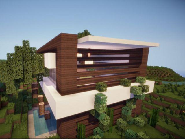 Contempory Eco Home - Minecraft, le jeu vidéo de construction