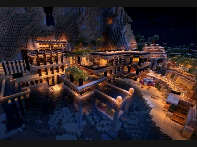The Cove house - Minecraft, le jeu vidéo de construction
