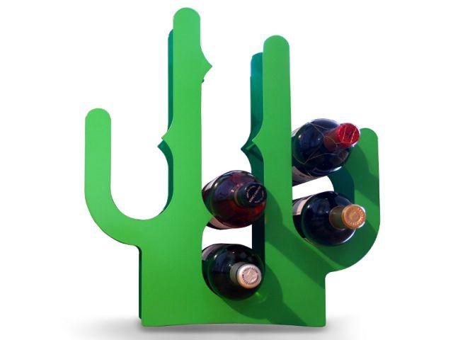 Porte bouteilles cactus