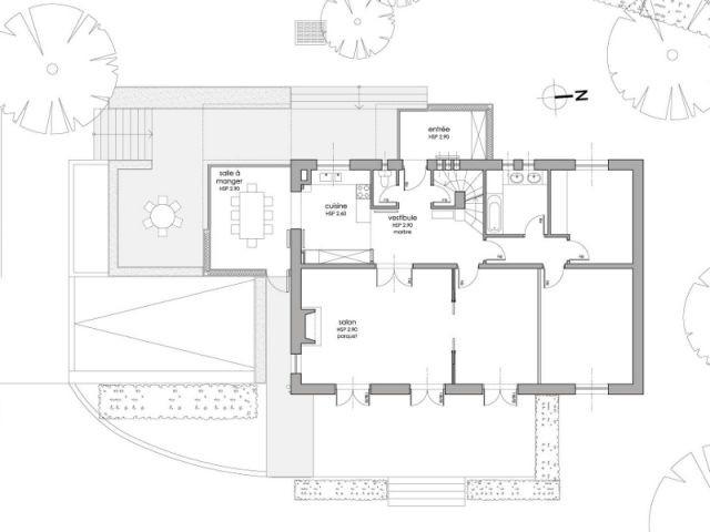 Une maison entièrement réorientée - Deux extensions en bois pour une maison plus fonctionnelle