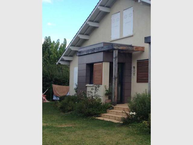 Deux extensions en bois pour une maison plus fonct