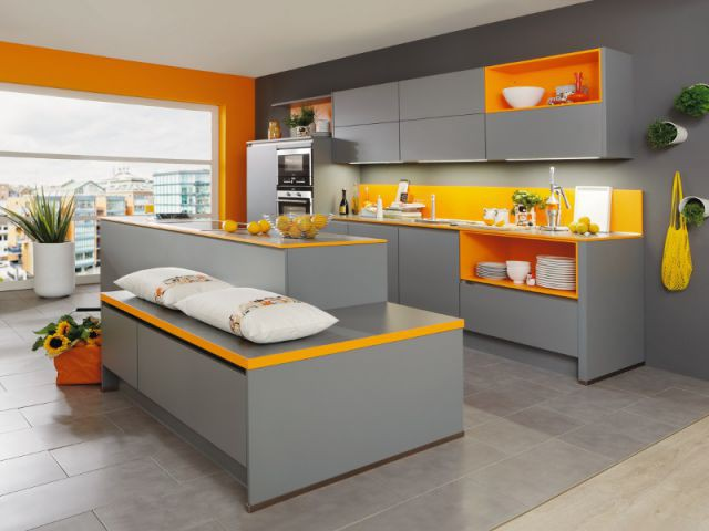 10 cuisines chics et fonctionnelles gr ce un lot central. Black Bedroom Furniture Sets. Home Design Ideas