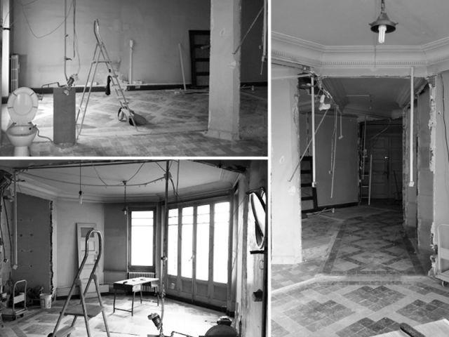 Fiche technique de la réalisation - Rénovation d'un apprtement des années 1940 à Montpellier