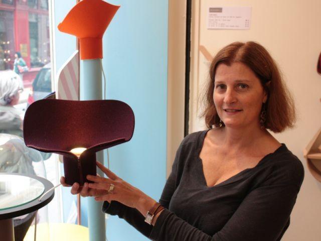 Des lampes sensuelles en textile de feutre - Femmes de design