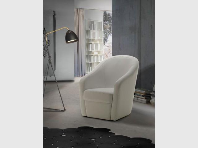 Un fauteuil contemporain pour un salon moderne - Dix fauteuils pour embellir son salon