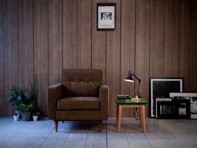 Un fauteuil aux formes rectangulaires pour un confort sécurisant - Dix fauteuils pour embellir son salon