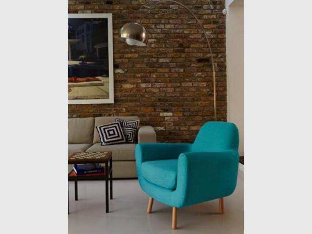 Un fauteuil coloré pour égayer un salon  - Dix fauteuils pour embellir son salon