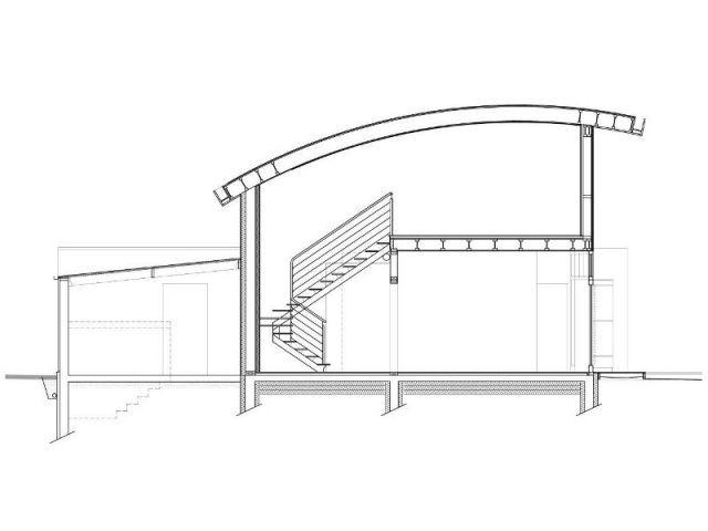 Coupe transversale - Maison passive - Samuel Juzac