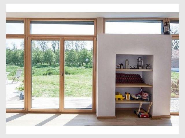 Baies vitrées - Maison passive - Samuel Juzac