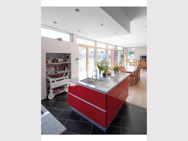 Espace cuisine - Maison passive - Samuel Juzac