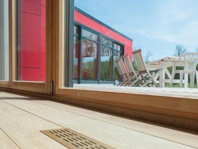 Ouverture sur la terrasse - Maison passive - Samuel Juzac