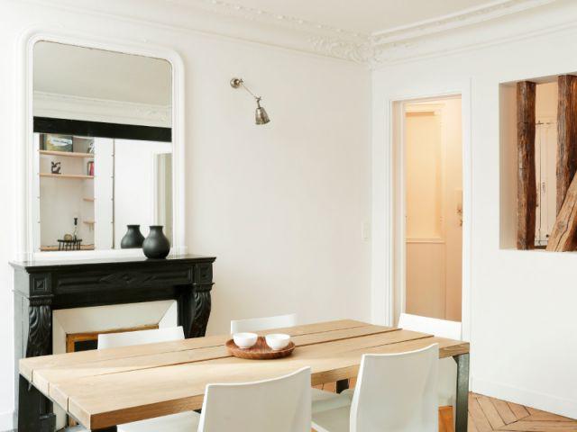 Une décoration intérieure entre simplicité et finesse - Appartement parisien lumineux autour du bois