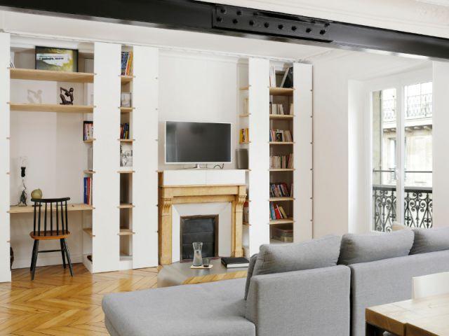 Une pièce à vivre ouverte et fonctionnelle - Appartement parisien lumineux autour du bois