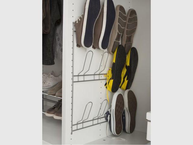 Un module de rangement pour chaussures à fixer - Rangement pour chaussures