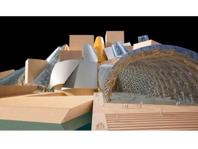 Maquette Guggenheim Abu Dhabi, 2006 -
