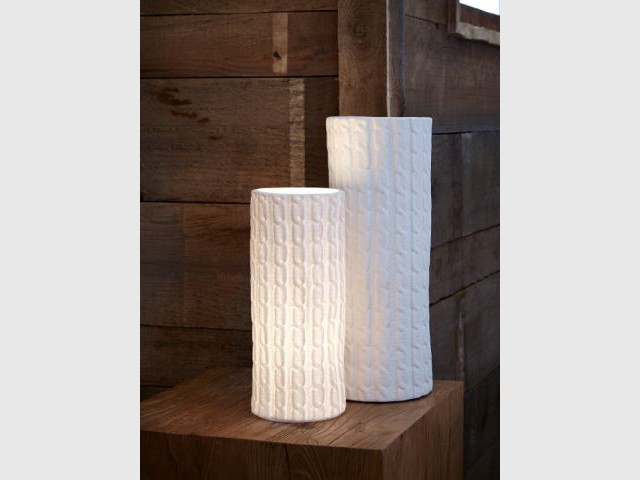 Une lampe comme tricotée - Luminaires à moins de 100 euros