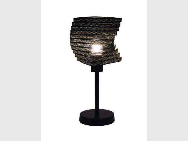 Une lampe au style industriel - Luminaires à moins de 100 euros