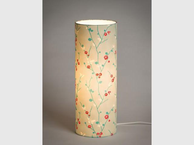 Une lampe hommage à l'Asie - Luminaires à moins de 100 euros