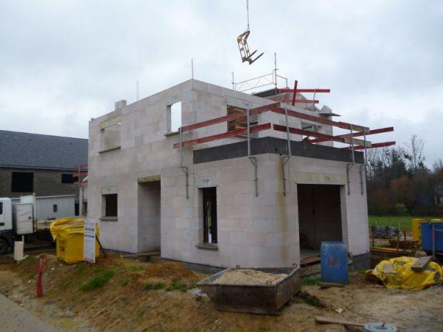 Elévation des murs (suite) - Maison Bati Tech