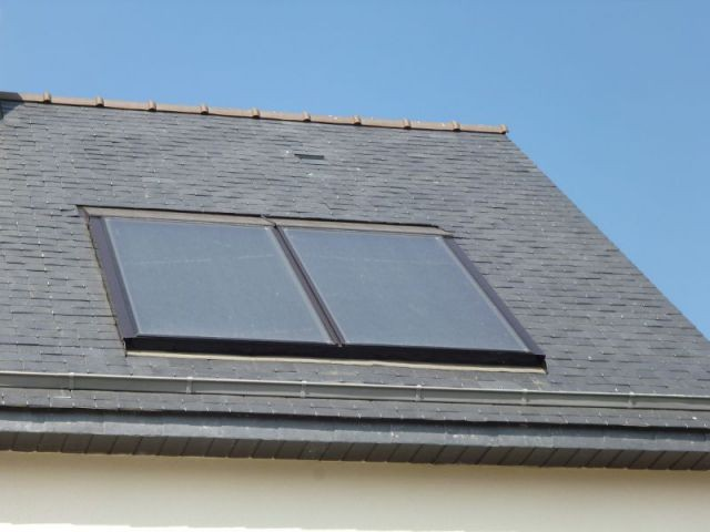 Capteurs solaires thermiques - Maison Bati Tech