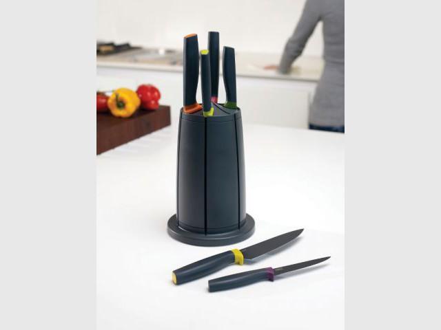 Des rangements pour couteaux hygiéniques  - Dix solutions de rangement pour sa vaisselle