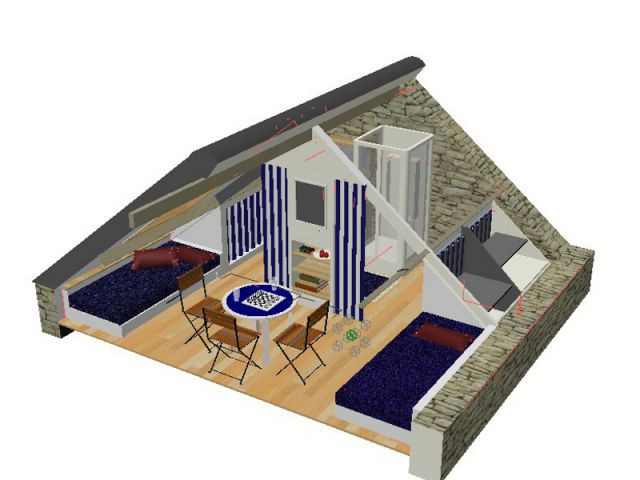 Un outil 3D pour aménager ses combles - Les outils 3d pour concevoir sa maison